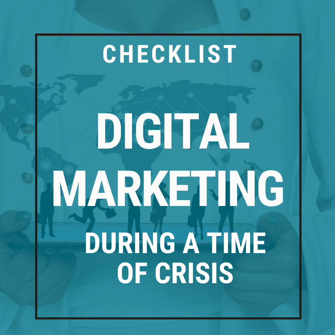 Digital Marketing Plan Crisis Checklist Download