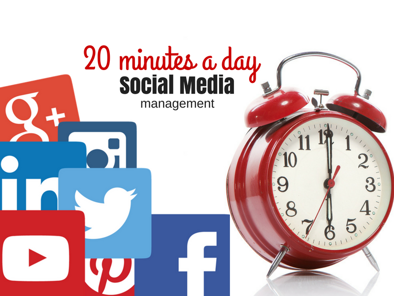 Social Media Management in 20 minutes a Day
